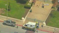 Judge: 1 killed in Texas courthouse shooting.