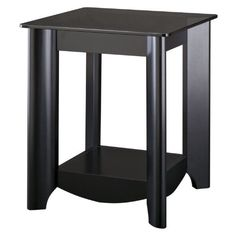 Aero Collection End Tables with Tinted Glass Top by MYSPACE. $139.05. Classic black finish. Sold in packs of two tables. Attractive, elliptical quarter-turned legs. Two matching coffee tables offer contemporary styling. Grey tinted glass top shelf. Durable gray tinted glass top shelf. These tables match the Aero Coffee Table and TV stand. Matches aero collection coffee table and tv stand. This pair of Aero Collection end tables from Bush Furniture is a perfect ...