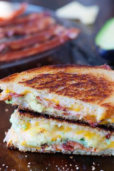 Bacon Avocado Grilled Cheese | Kevin and Amanda