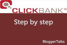 earn money from #clickbank : tutorial #bloggerTalks