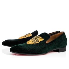 Christian Louboutin Oxford verde