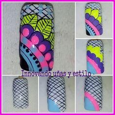 Manicure mandalas paso a paso best ideas Pink French Manicure, French Manicure Designs, Nail Designs, Manicure Colors, Manicure Y Pedicure, American Manicure, Nail Patterns, Cute Animal Photos, Hacks Diy