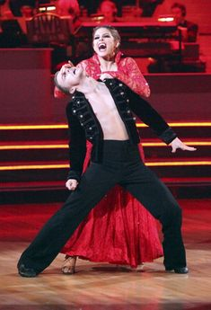 Derek Hough & and Maria Menounos  -  vampire Paso Doble  -  Dancing With the Stars  -  season 14 champs -  spring 2012  -  placed 4th for the season