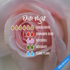 Date Night - Essential Oil Diffuser Blend FREE Delivery on all UK orders 10% of on all orders in June Enter Discount code EB17 at checkout www.essentialoilproducts.co.uk