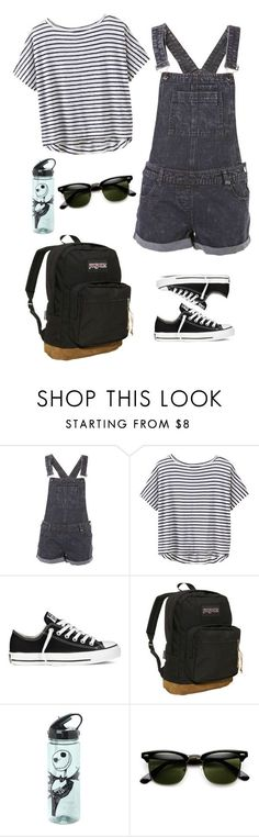 """""""Untitled #106"""" by fradoria ❤ liked on Polyvore featuring Athleta, Converse and JanSport"""