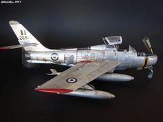 Republic F-84F Thunderstreak 148 Italeri | GModel Art
