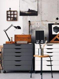 Ikea alex dream studio home office design, ikea alex, workspace inspiration. Home Art Studios, Art Studio At Home, Art Studio Room, Art Studio Design, Design Art, Art Studio Spaces, Art Studio Decor, Art Designs, Home Office Design
