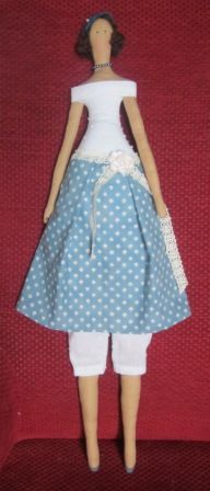 Tilda:  poupée Suzanne , année 50