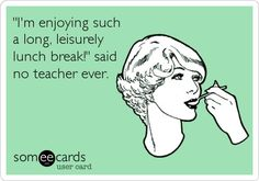 Said no teacher (or coach) ever. I thought this today when I tried to make my shakes and had 10 kids wanting signatures on their rocket project