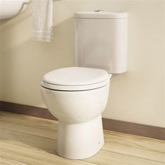 Louisa Close Coupled Toilet - £189 http://www.bathroomheaven.com/close-coupled-toilets/louisa-close-coupled-wc-with-soft-close-seat-14018.aspx