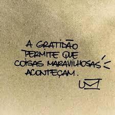 Resultado de imagem para frase sobre gratidão