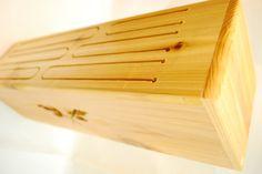 Wooden Tongue Drum (Cedar). $30.00, via Etsy.