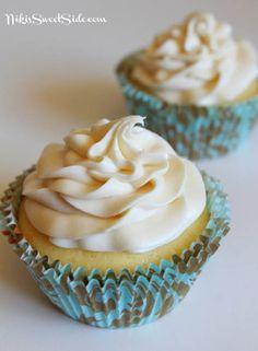 Nikis Milk and White Chocolate Truffle Cupcakes