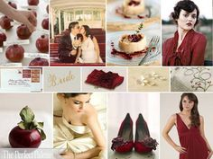 Love this sophisticated palette for fall weddings.