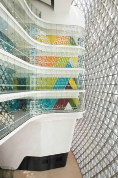 South Australian Health and Medical Research Institute by Woods Bagot | SAHMRI Building by Woods Bagot // Adelaide, Australia.