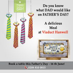 Celebrate Father's day @Viaduct Hanwell