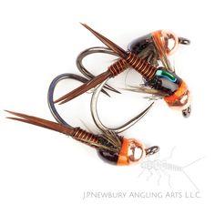 Copper Brown Copper John John P. Newbury Angling Arts.
