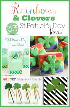Rainbows & Clovers: 33 ideas for Celebrating St. Patrick's Day | KristenDuke.com