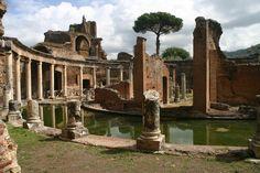 Villa Adriana, Tivoli, Roma, Italia, s. II BC