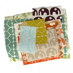 Umbrella prints fabric from Australia