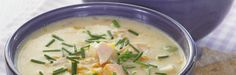 Middagstips og oppskrift på fiskesuppe Norwegian Food, 30 Minute Meals, Cheeseburger Chowder, Soup, Meat, Cooking, Ethnic Recipes, Simple