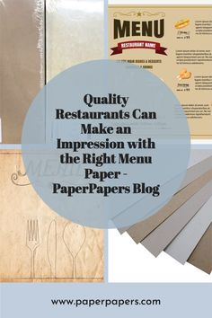 Restaurant Names, Dessert Drinks, Diy Paper, Factors, Card Stock, Diy Ideas, Restaurants, Fiber, Printing