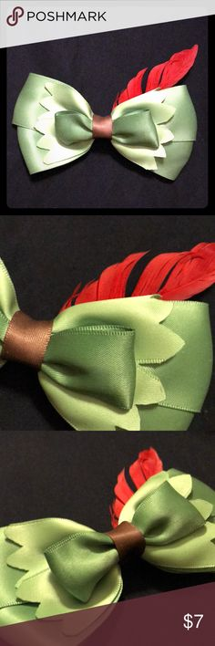 Peter Pan bow Perfect for Peter Pan fans or Disney Bounding!!! Hot Topic Accessories Hair Accessories