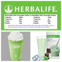 WOW... not worth it! This Herbalife shake is one of my favs! tasts just like mint chip ice cream! try it!!