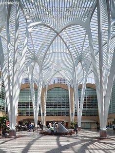Sam Pollock Square, Allen Lambert Galleria, Toronto, Ontario, Canada - Santiago Calatrava