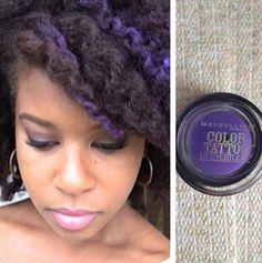Temporary dye by using eyeshadow...http://www.youtube.com/watch?v=Q4HXubBQW20