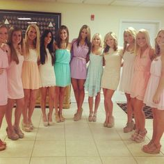 What to wear for sorority recruitment - SOCIETY19