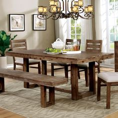 Farmhouse Table Home Goods: Free Shipping on orders over $45 at Overstock.com - Your Home Goods Store! Get 5% in rewards with Club O!