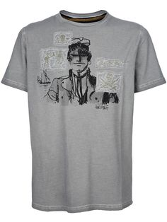 HUGO PRATT Print t-shirt