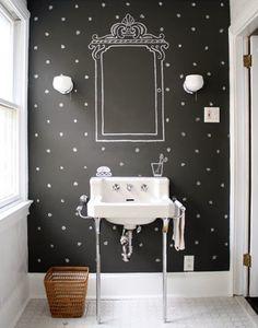Yantie Basharudin: DIY Ideas: Blackboard Walls As Art