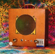 Acid x Loud Cigar Box MP3 Player / Guitar Amp Big Trip dimensions 7in x 7in x 3.5in We used new amp boards with better resistors. The new power supply makes these things LOUD AF!! You will not be disa                                                                                                                                                                                 More