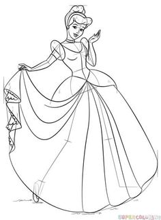 19 Best how to draw cinderella images in 2014 Disney