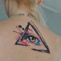 watercolor eye by dopeindulgence on DeviantArt