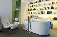 Leggere in bagno: mensole e librerie da bagnoBagni dal mondo | Un blog sulla cultura dell'arredo bagno