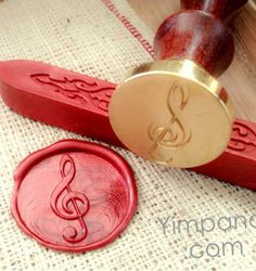Sealing wax stamp : Sol Key