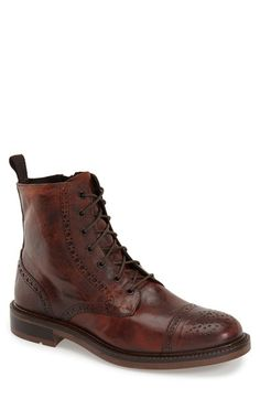 BOEMOS Cap Toe Boot (Men) available at #Nordstrom