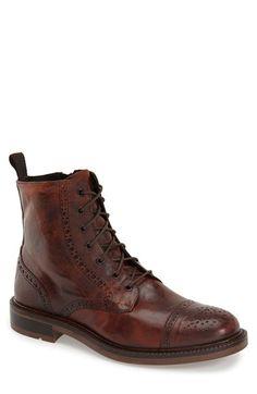 BOEMOS Cap Toe Boot (Men) available at #Nordstrom