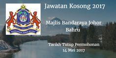 Majlis Bandaraya Johor Bahru Jawatan Kosong MBJB 14 Mei 2017