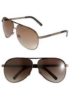 Gucci Metal Aviators available at  Nordstrom Gucci Sunglasses, Aviators,  Cool Style, Style b97138602f6d