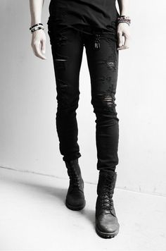 Canadian Fashion Style Homme Black Soul