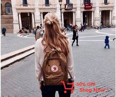 backpacks by pink Mochila Kanken, Looks Style, My Style, Ft Tumblr, Backpack Outfit, Modern Disney, Mode Outfits, Adventure Is Out There, Hipster