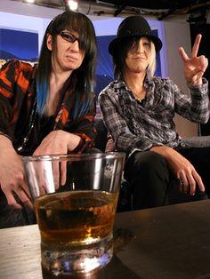 Imai (Buck-Tick) & Hisashi (GLAY)