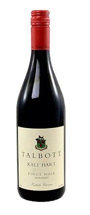 Talbott Pinot Noir Kali Hart 2010 - FABULOUS!!www.talbottvineyards.com
