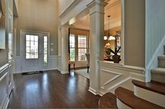 Beautiful entry way. Breckenridge | New Home in Whetstone | #Pulte Homes