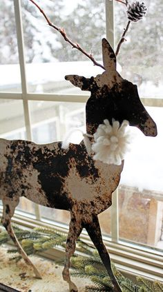 Winter decorating ideas- Itsy Bits And Pieces