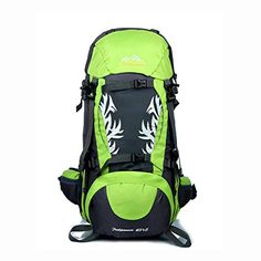 UMmaid 50L Waterproof Sport Outdoor Backpack Hiking Trekking Camping Travel Rucksack Bag Mountaineering Climbing Knapsack Green -- See this great product.(This is an Amazon affiliate link and I receive a commission for the sales)
